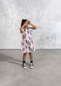 Minti Painted Seahorses Dress