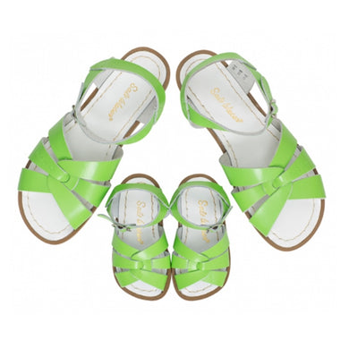 Saltwater Sandals Lime