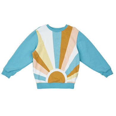 Goldie + Ace Surf Sunrise Sweater