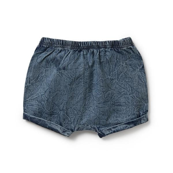 Wilson And Frenchy Denim Rolled Shorts