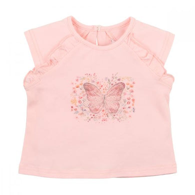 Bebe Isla Butterfly Top