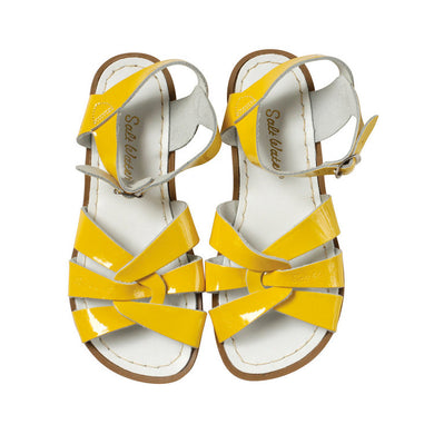 Saltwater Sandals Original Adults Shiny Yellow