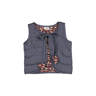 Burrow And Be Ink Flower Fields Quilted Vest