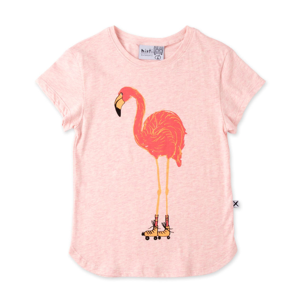 Minti Skating Flamingo Tee