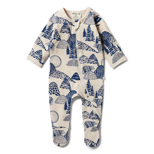 Wilson And Frenchy Little Mountains Zipsuit