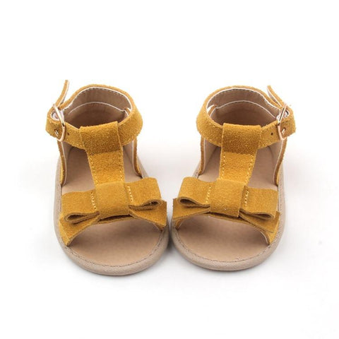Sadie Baby Maggie Sandal in Mustard (soft sole)