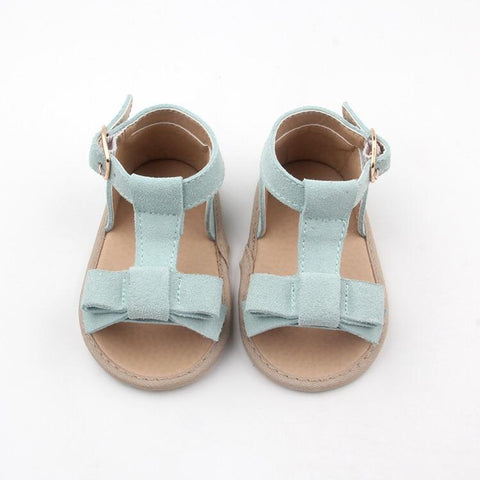 Sadie Baby Maggie Sandal in sky blue (soft sole)  Regular price