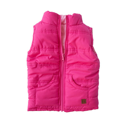 French Soda Reversible Vest Pink