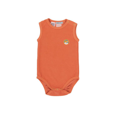 Goldie + Ace Dash Onesie Terry Towelling Flamingo