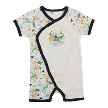 Load image into Gallery viewer, Bebe Ethan Wrap Romper
