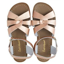 Load image into Gallery viewer, Saltwater Sandals Rose Gold