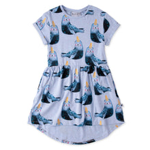 Load image into Gallery viewer, Minti Painted Seals Dress