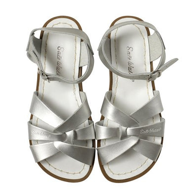 Saltwater Sandals Original Adults Silver
