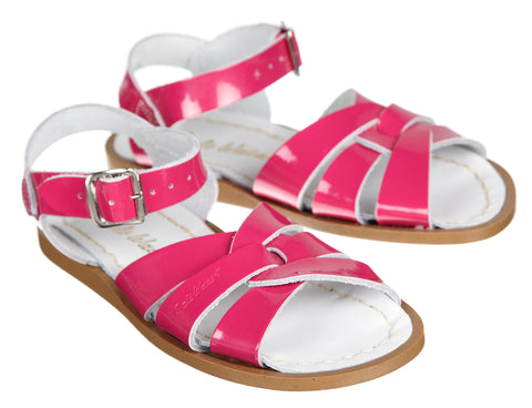 Saltwater Sandals Shiny Fuchsia