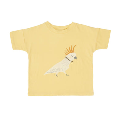 Goldie + Ace Cockatoo Cotton Tee