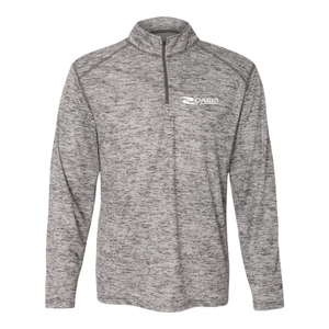 Mens Tonal Blend Quarter-Zip Pullover