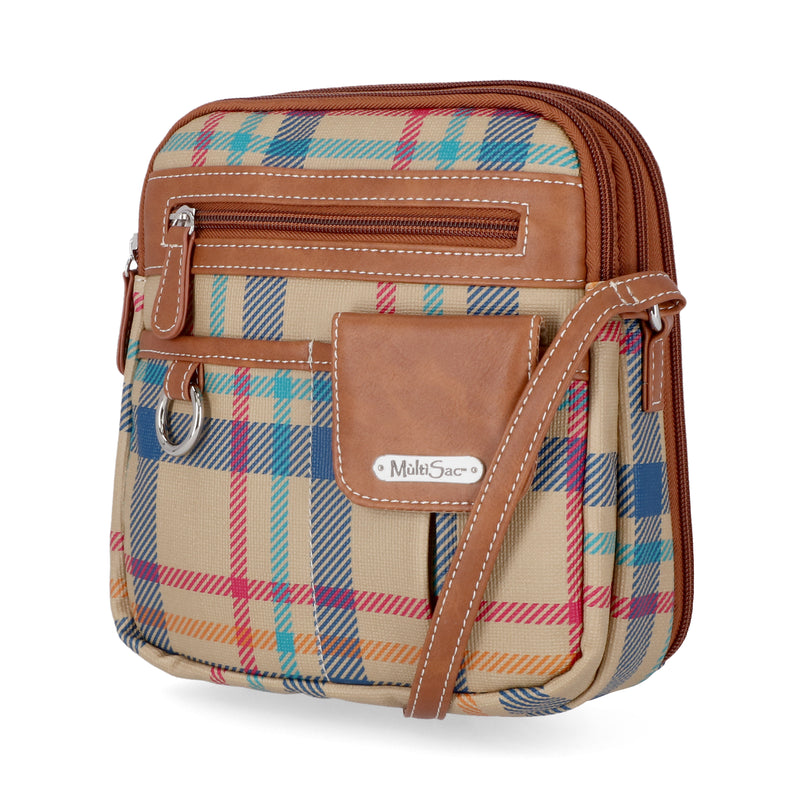 MultiSac Handbags - Affordable Gifts for Her - North South Zip Around Crossbody Bag