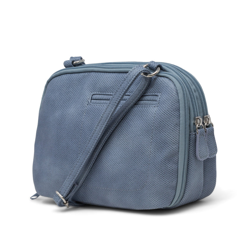 Zippy Triple Compartment Crossbody Bag