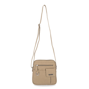 North South Zip Around Crossbody Bag