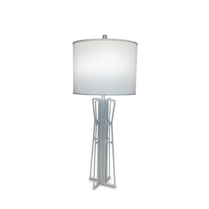 NEW! ATOMIC Lamp in Silver