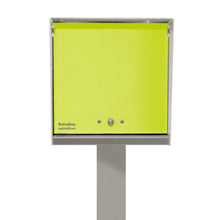 NEW!  UptownBox in Arctic White and Lemon Lime
