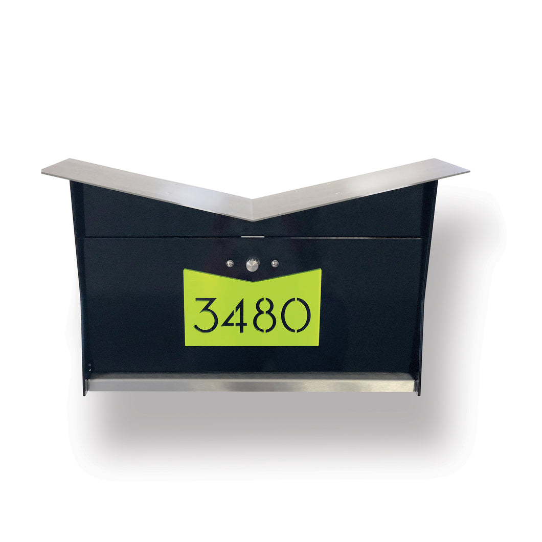 NEW! ButterFly Box in Jet Black and Lemon-Lime