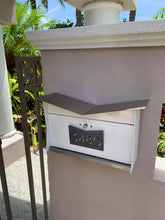 The ButterFly Box in White and Designer Gray