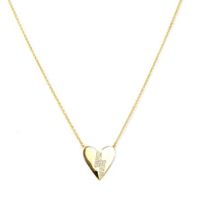 Lightning Heart Necklace