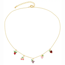 Fruit Basket Necklace