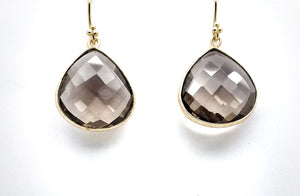 Posh Rocks - Pear-shaped Teardrop Earrings