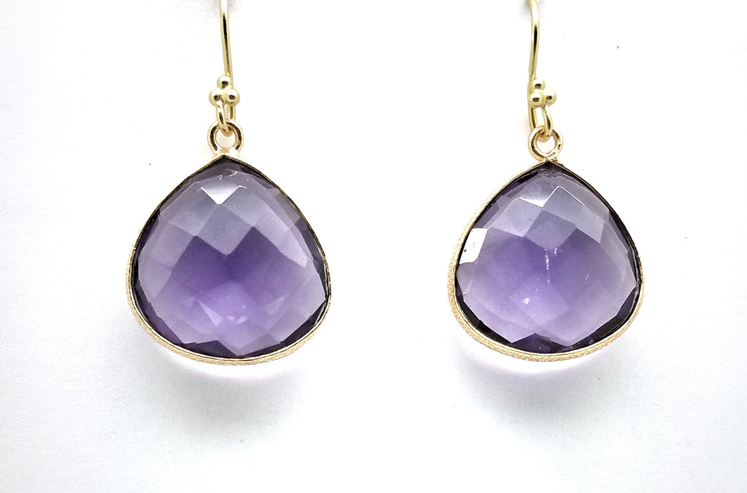 Amethyst 20x20 Tear Drop