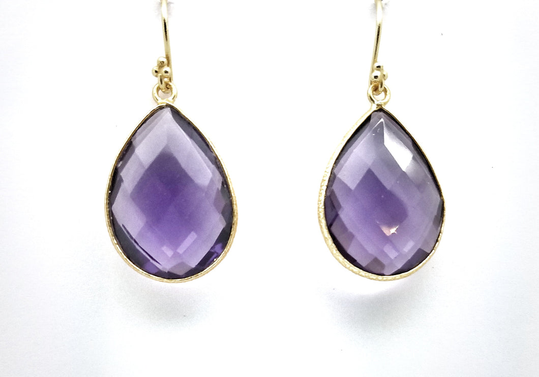 Posh Rocks - Traditional Teardrop Earrings