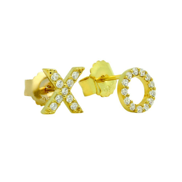 Hugs & Kisses Stud Earrings