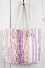 Lavender Patchwork Tote
