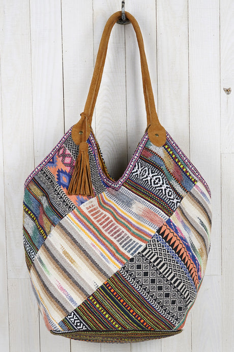 Columbia Patchwork Oversized Bag