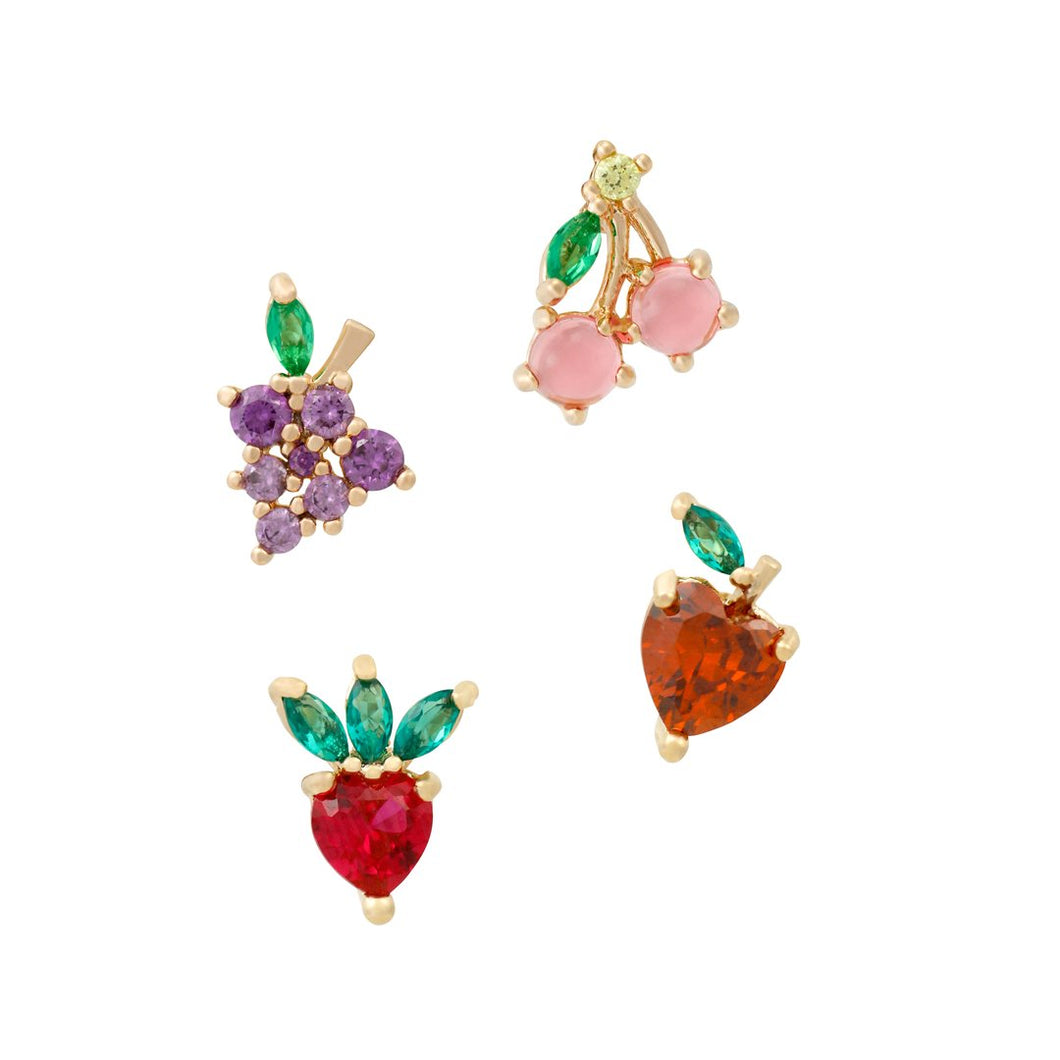 Berry Fruit Basket Studs
