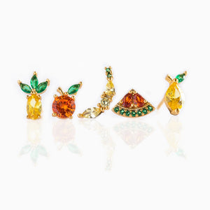Tropical Fruit Basket Studs