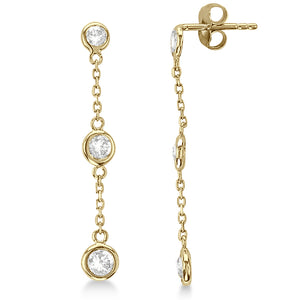 Crystal Dangle Gold