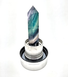 Wellness Gem-Water Wand Stainless Steel