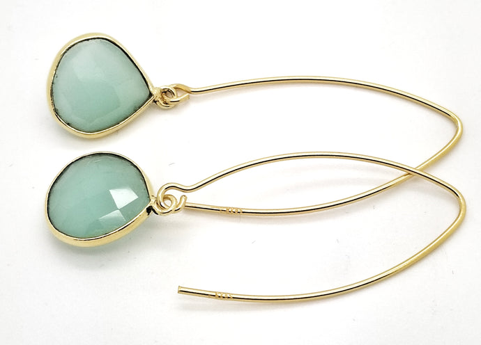 Posh Rocks - Hook & Petite Pear Drop Earrings