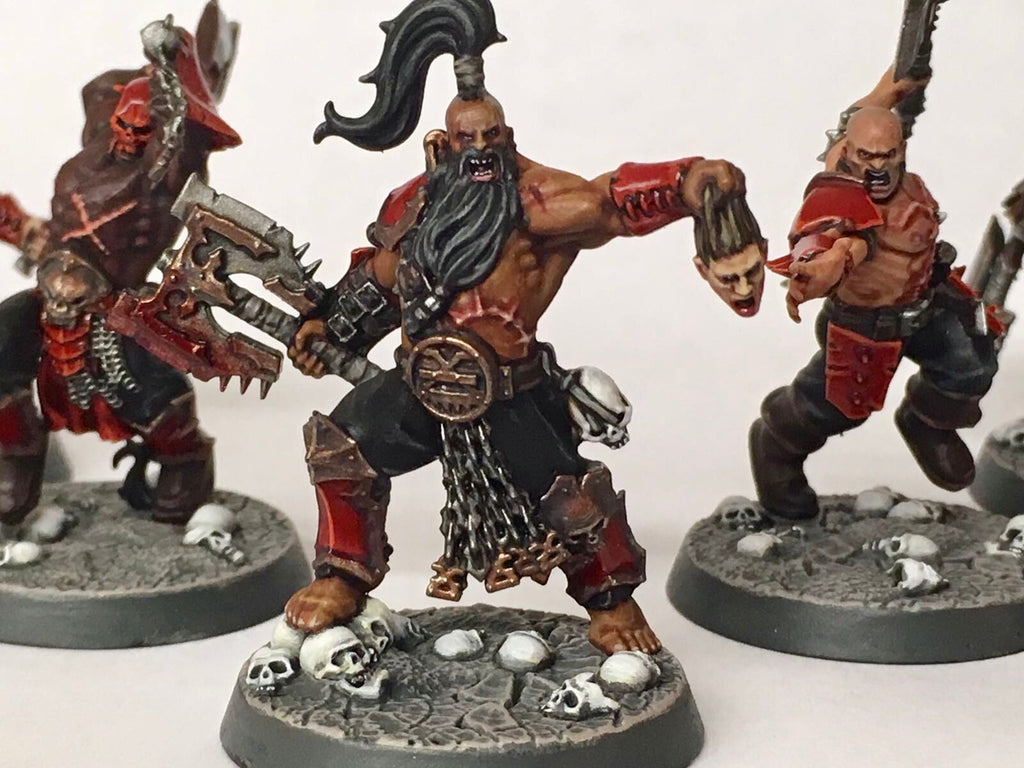 Shadespire TUTORIAL - Ian's Bloodbound Painting Guide