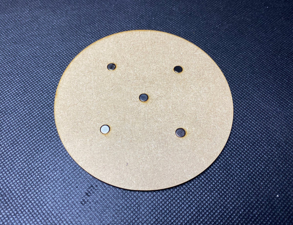 100mm MDF Magnetised Base - Single