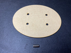 120x92mm MDF Magnetised Base - Single