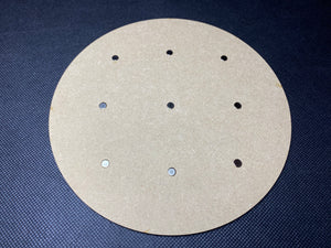 160mm MDF Magnetised Base - Single
