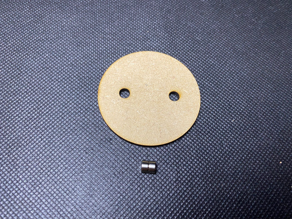 50mm MDF Magnetised Base - Single