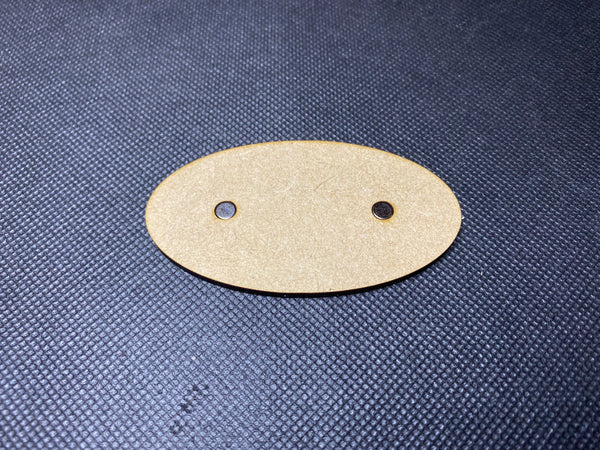 75x42mm MDF Magnetised Bases - Pack of 5