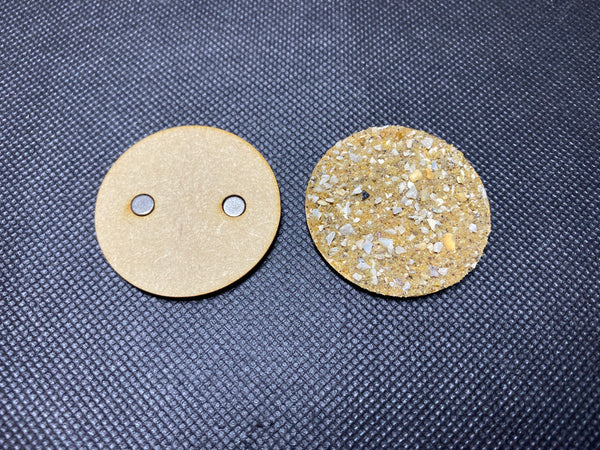 25mm MDF Magnetised Bases - Pack of 10