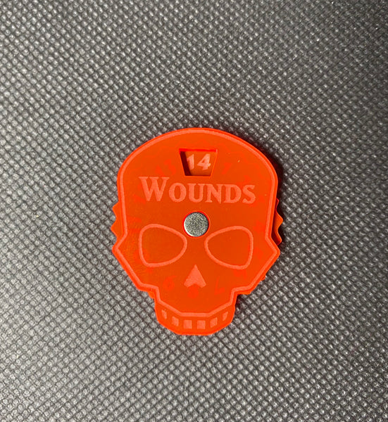 Single Wound Dial - Magnetic Counter (1-14)
