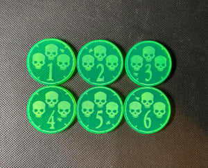 Plague Warriors Objective Tokens (6 pack)