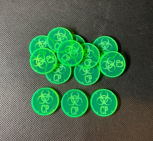 Plague Warriors Command Point Tokens (13 pack)